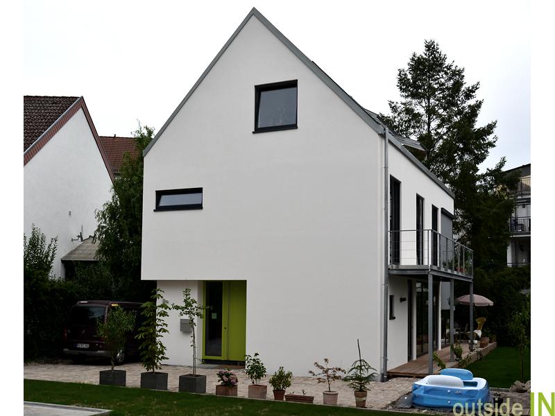 wohnhaus architektur architekt und innenarchitekt f r. Black Bedroom Furniture Sets. Home Design Ideas