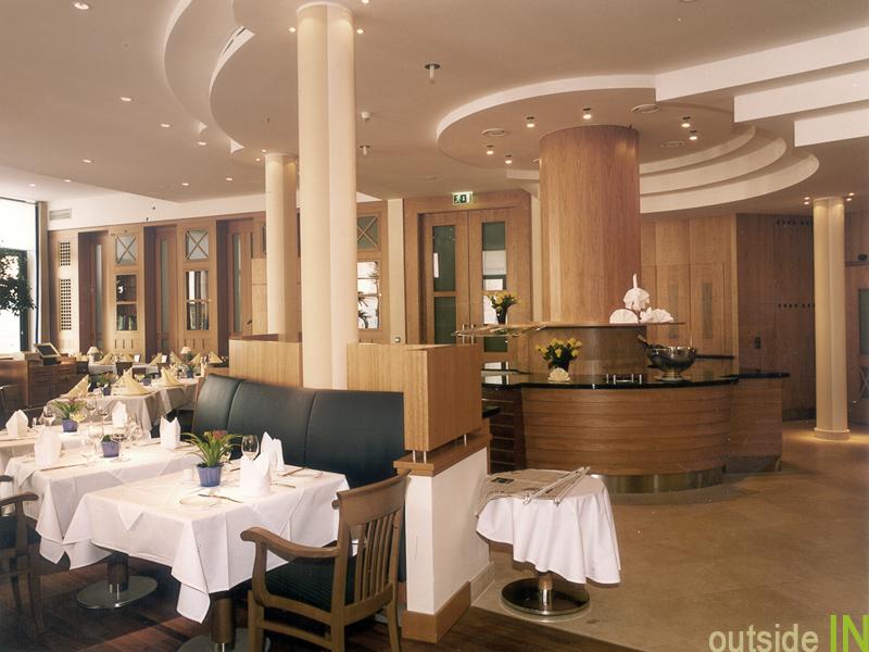 Gastronomie und restaurant design innenarchitektur und for Design hotel hofgut